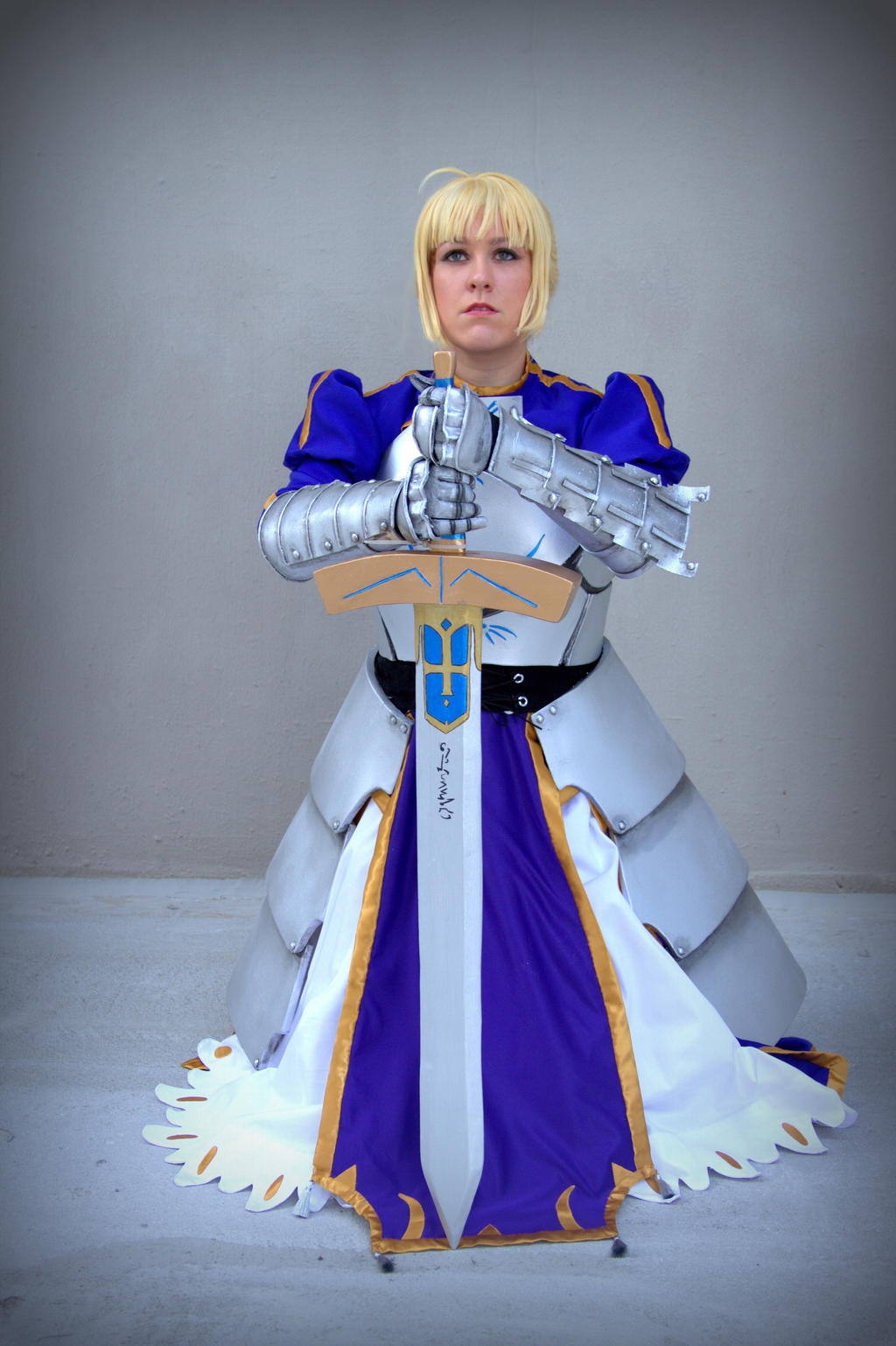 Saber Fate/Stay Night by ScissorWizardCosplay
