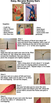 Easy, No-sew Bunny Ears Tutorial