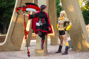 RWBY Ruby and Yang by ScissorWizardCosplay