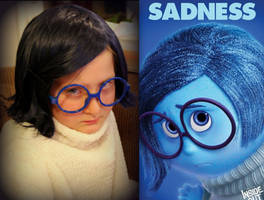 Sadness Cosplay from Pixar's 'Inside Out' by ScissorWizardCosplay