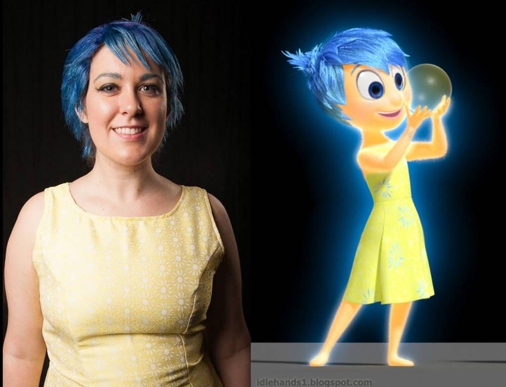 Joy from Pixar's 'Inside Out' by ScissorWizardCosplay