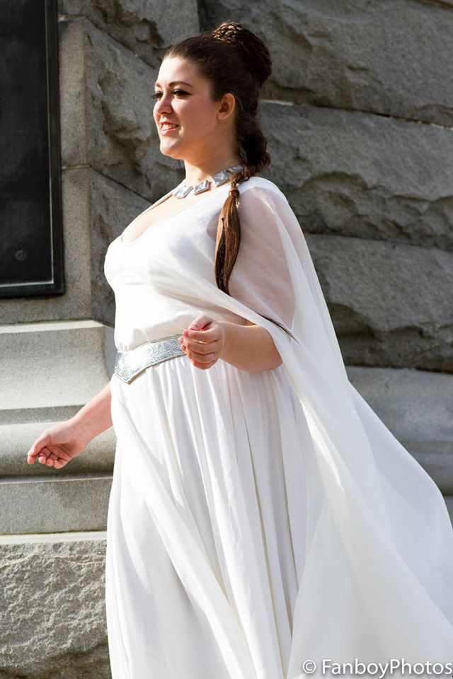 Princess Leia Ceremonial Gown by ScissorWizardCosplay on DeviantArt