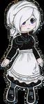 [Fanart] Chibi maid Itsuki by Choi-Lu