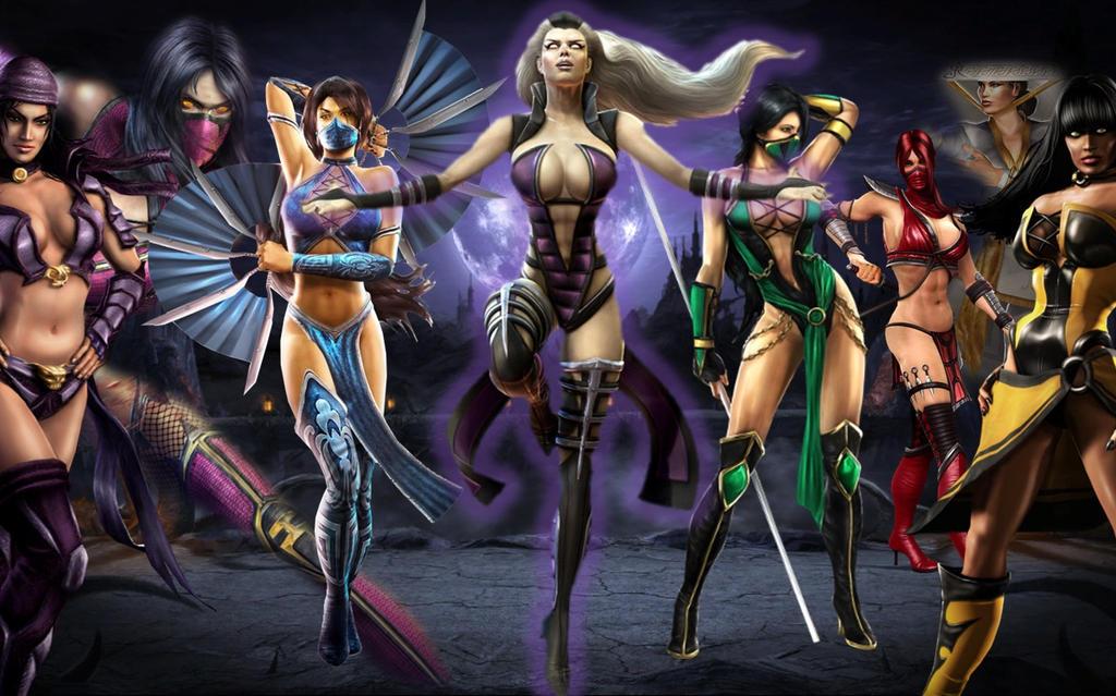 Mortal Kombat Women 7