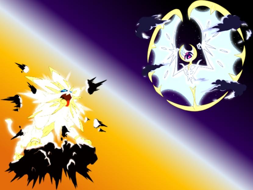 Pokemon Sun and Moon Solgaleo and