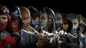 Mortal Kombat 11 Character Wallpaper