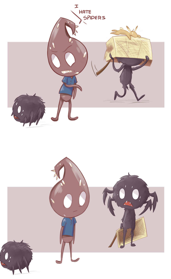 I Hate Spiders by StrawberryCocoa