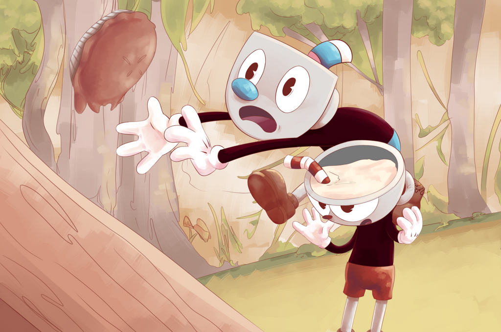 Cuphead by StrawberryCocoa