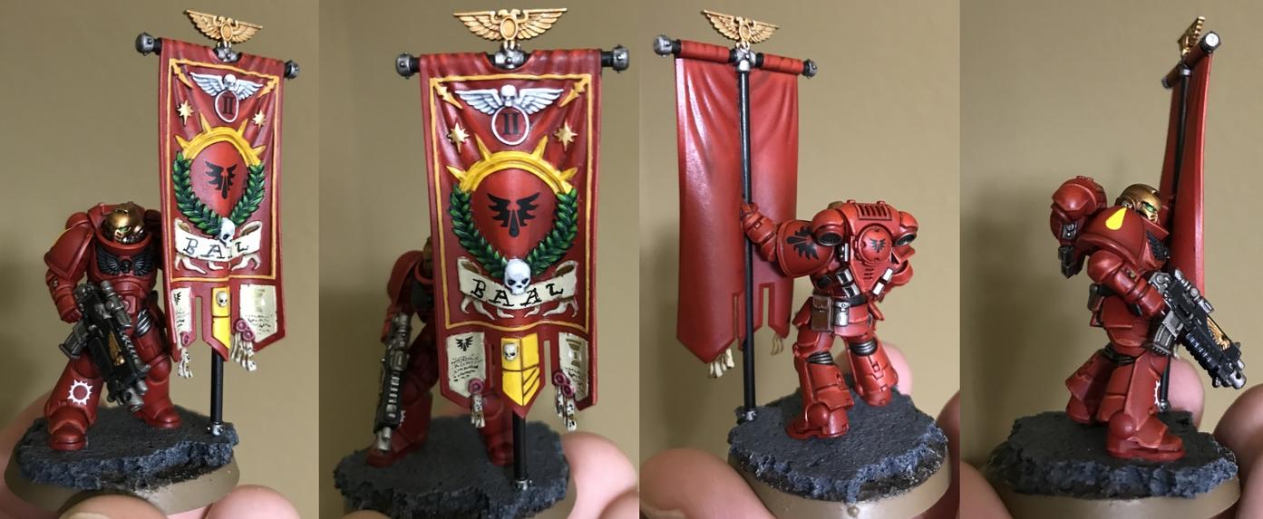 Blood Angels Primaris Ancient by DedicatedBrowser