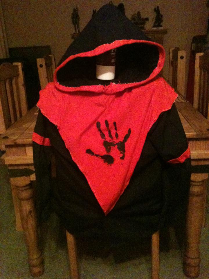 Dark Brotherhood Costume WIP by Zaphoid13