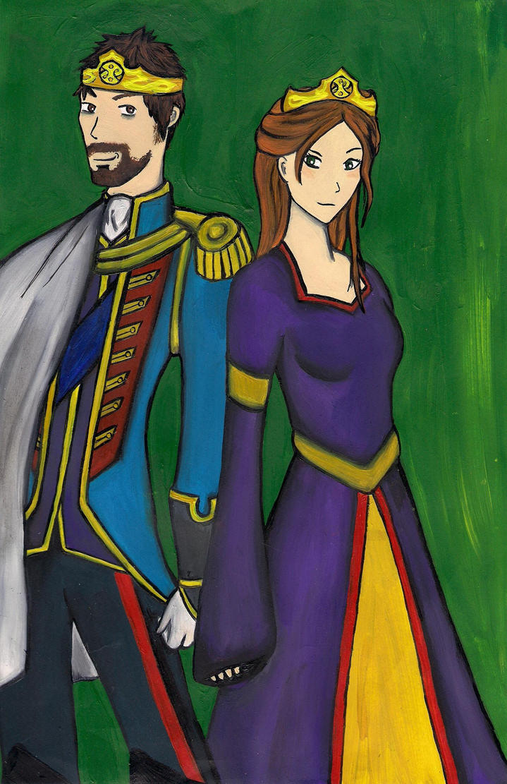 The King and Queen of Albion