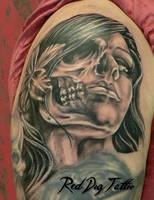 Wayne tattoo I by Reddogtattoo