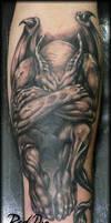 Devil in black Tattoo by Reddogtattoo