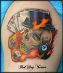 John's Skull Tattoo