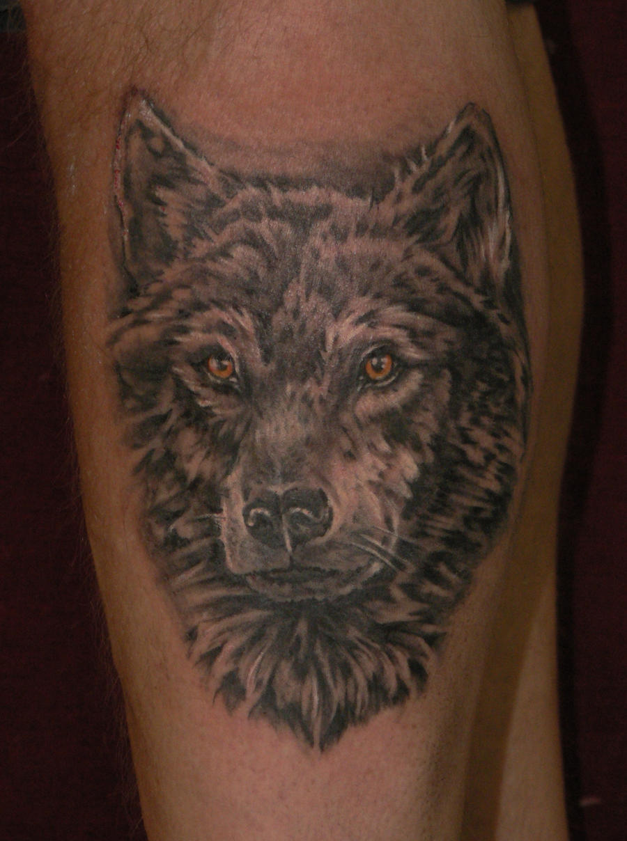 Gary 39 s wolf tattoo by reddogtattoo on deviantart for Red wolf tattoo
