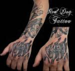 Chris sleeve hand session