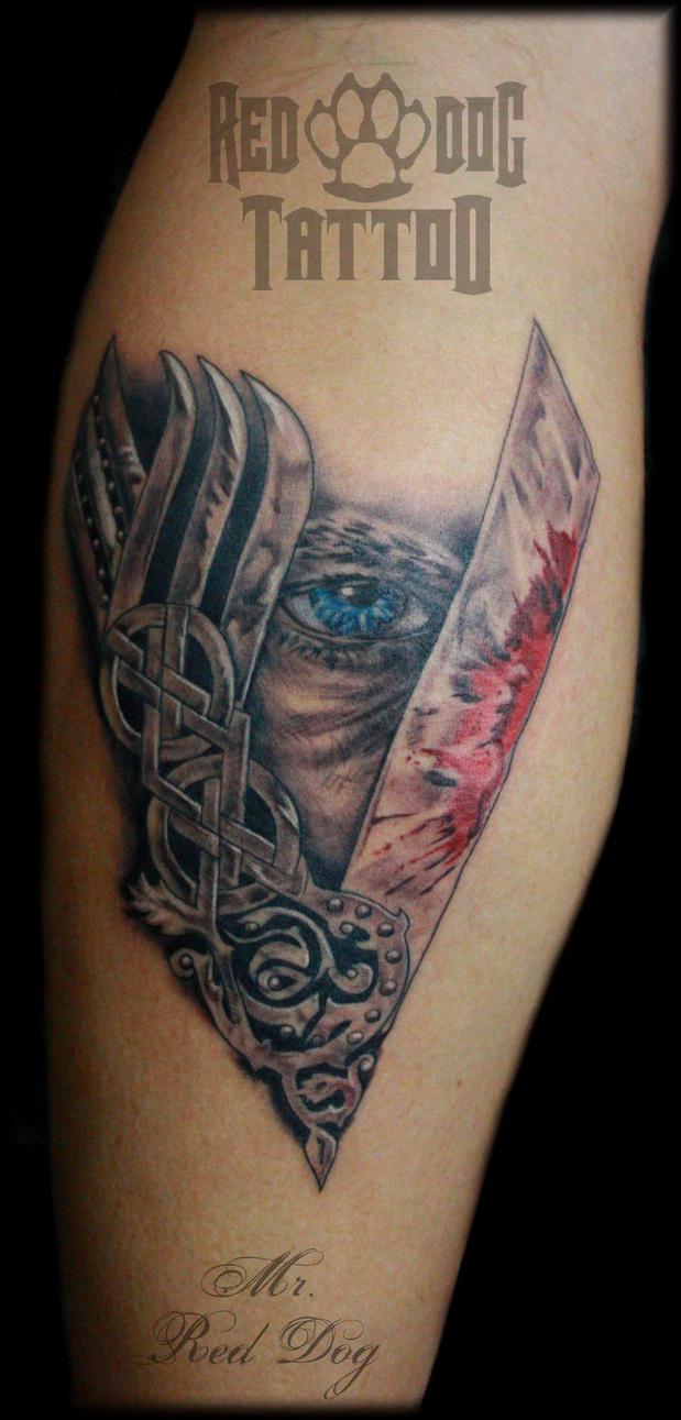 Viking's Tattoo by Reddogtattoo