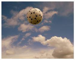Soccer Sky by DropBeatsNotBabies