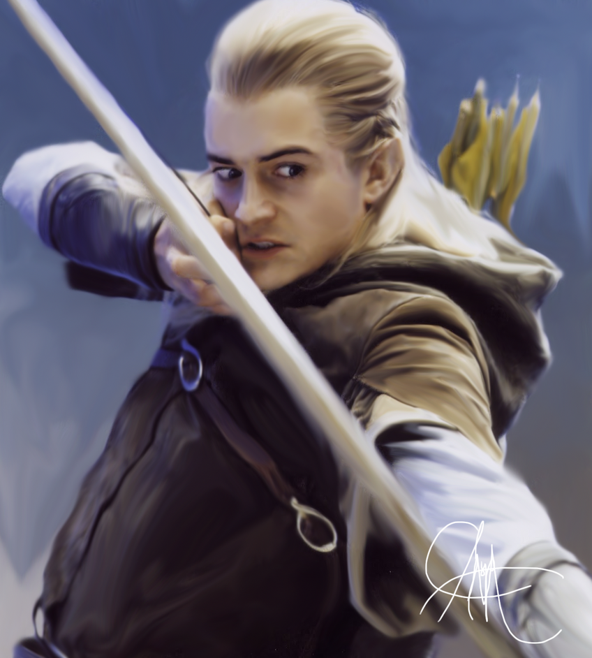 Legolas Wallpaper: Legolas Greenleaf By ThatMarauderProngs On DeviantArt