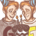 Happy Birthday, Fred and George!