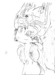 TP: Midna fail sketch by TunaTetrazzini