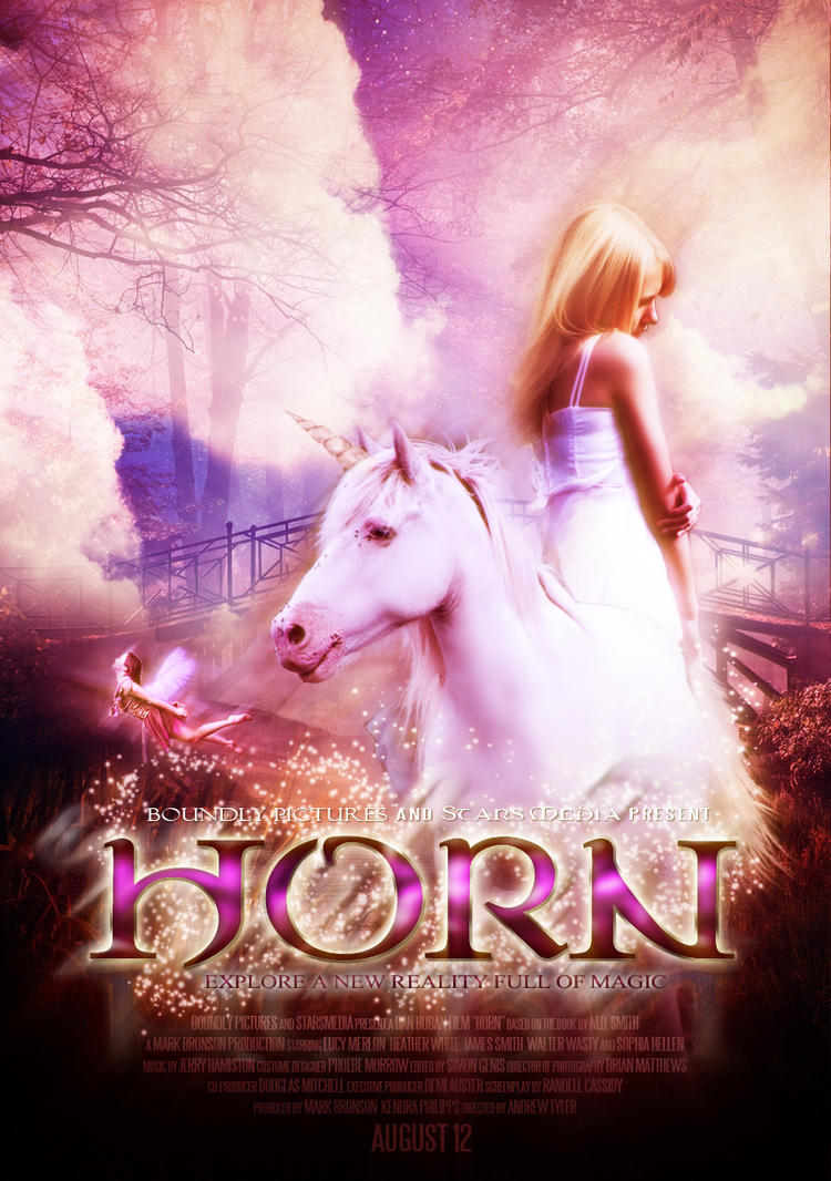 Horn Movie Poster by LyukP3 on DeviantArt Horns Movie Poster