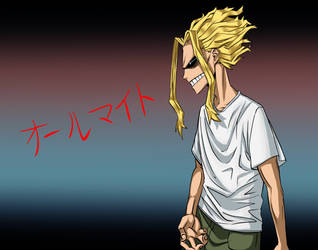 All Might by fluffsnake