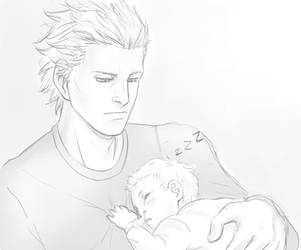 Vergil and Nero by fluffsnake