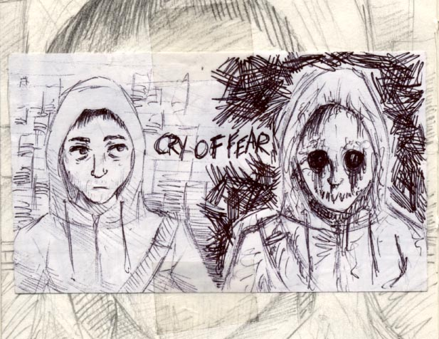 Cry Of Fear scribbles by trigs94 on DeviantArt