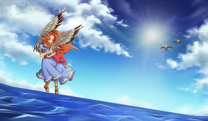 At Flight by ArtyCharmy