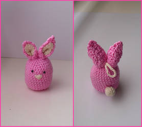 Pink bunny by Eternay