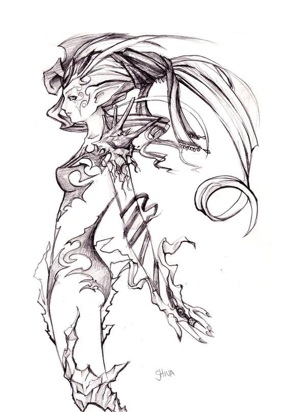 Shiva from final fantasy viii tattoos pinterest final fantasy finals and tattoo
