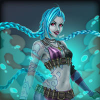 Get Jixed - Jinx League of Legends by karulox