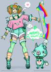 Kawaii Artemis + Tuzky