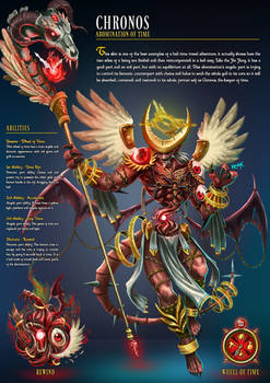Chronos Abomination Of Time - Angelic/Demonic
