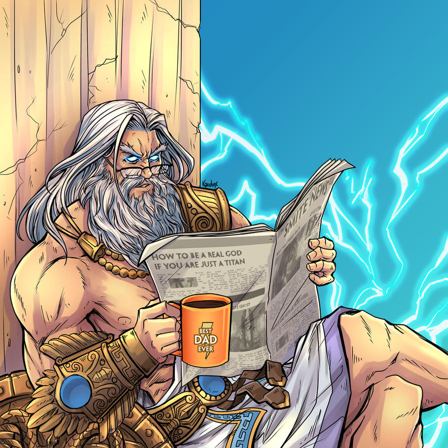 Zeus - Father's Day by karulox
