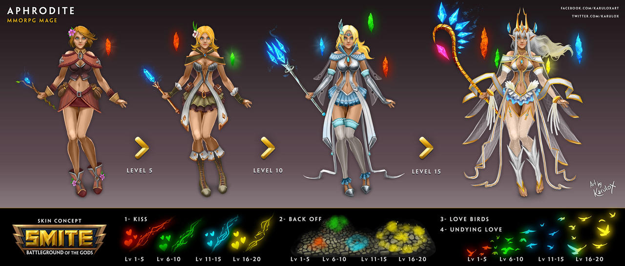 MMORPG Mage APHRODITE Tier 5 by karulox
