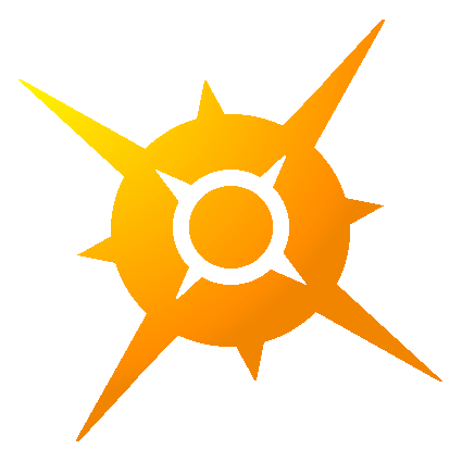 Pokemon Sun Logo Pixel Over And Completion 588736059