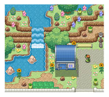 Unova Mini-Maps : 054, 055 by SimplyPixelizing