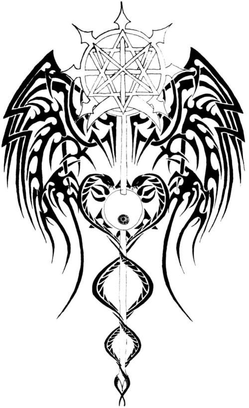 Back Tattoo Design By Thecrimsonseas On DeviantArt