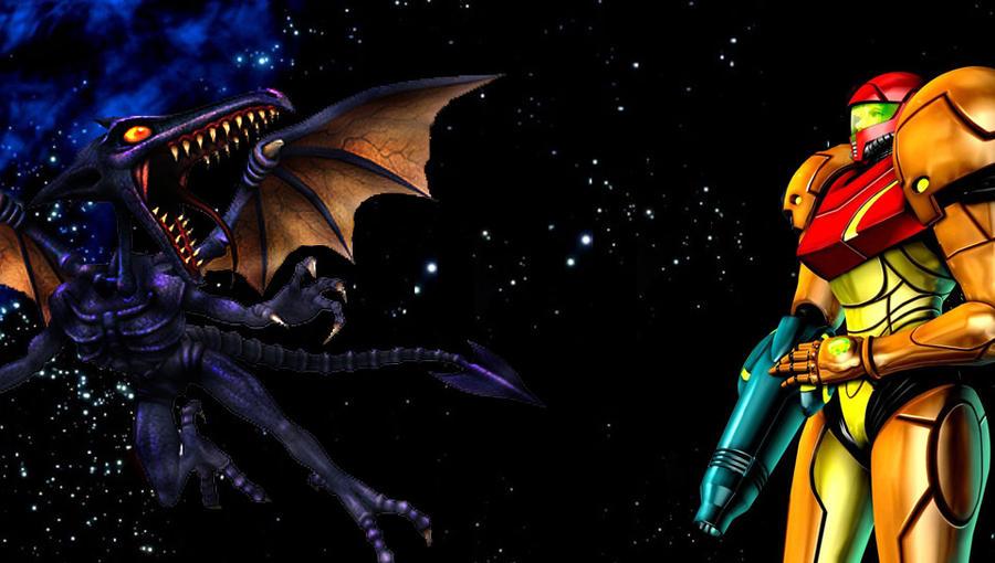 Samus Vs Ridley Playstation Vita Wallpaper By OmegaPokemonLeague