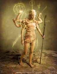 Wandering Goddess by bedtimestorys