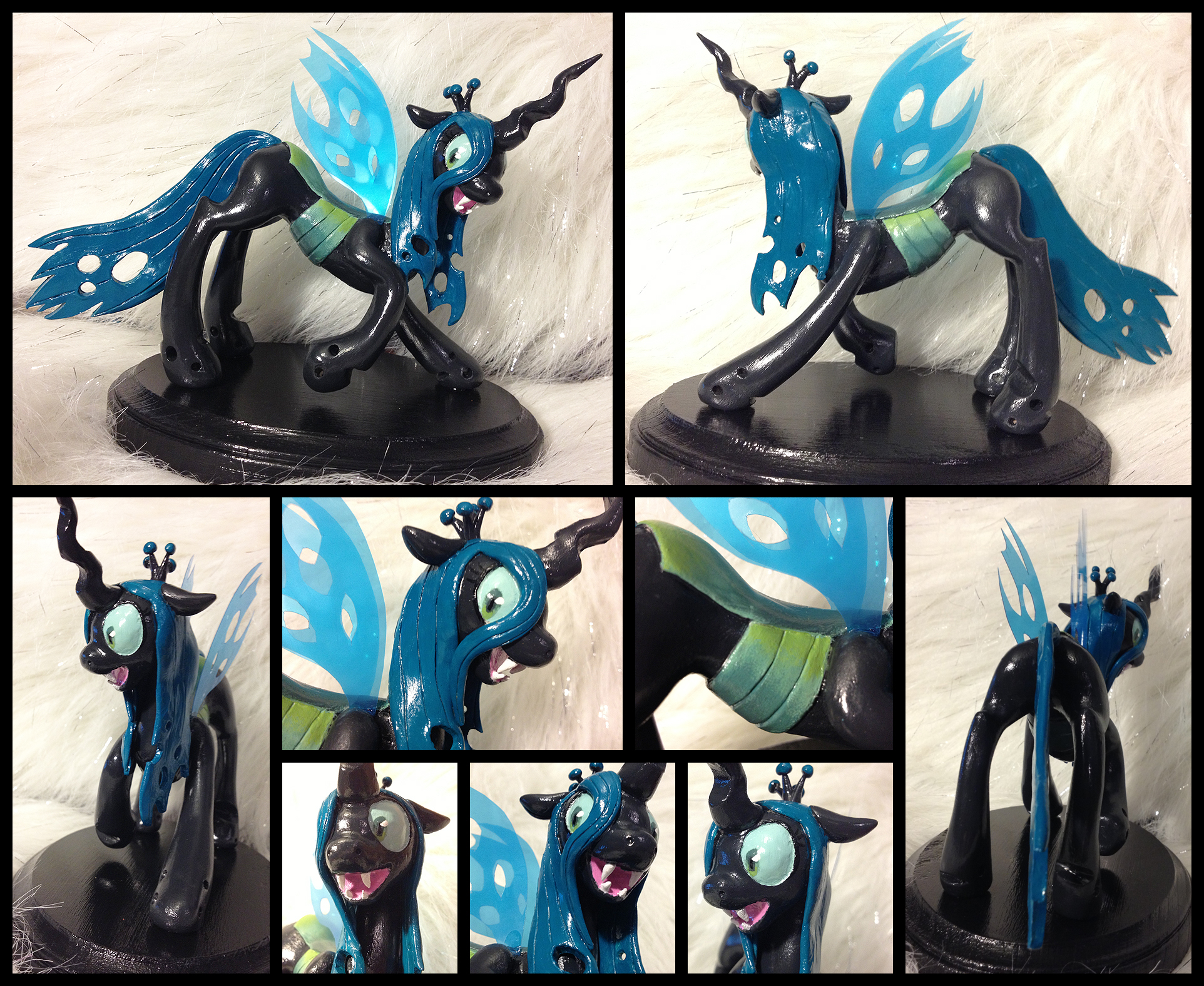 Queen Chrysalis Sculpture [SOLD] by AlicornParty