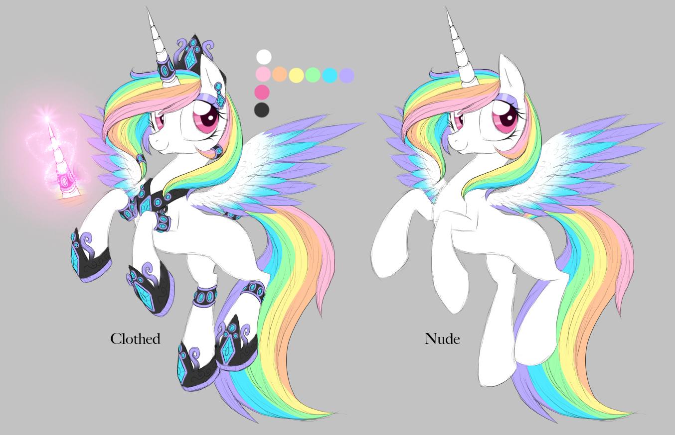 My Little Pony Base Evil Alicorn