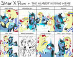 The Almost Kissing Meme - Flam X Shiver