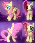 Fluttershy Plush .: SOLD :.