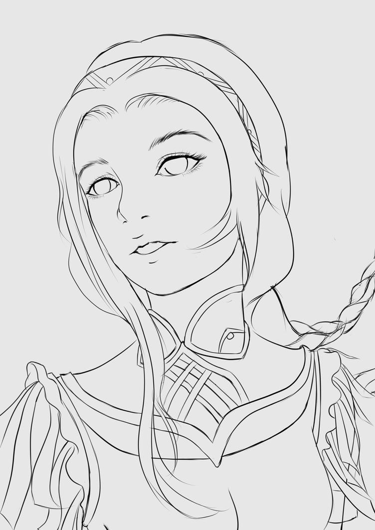 Charisa Main Character1 by Rochefore