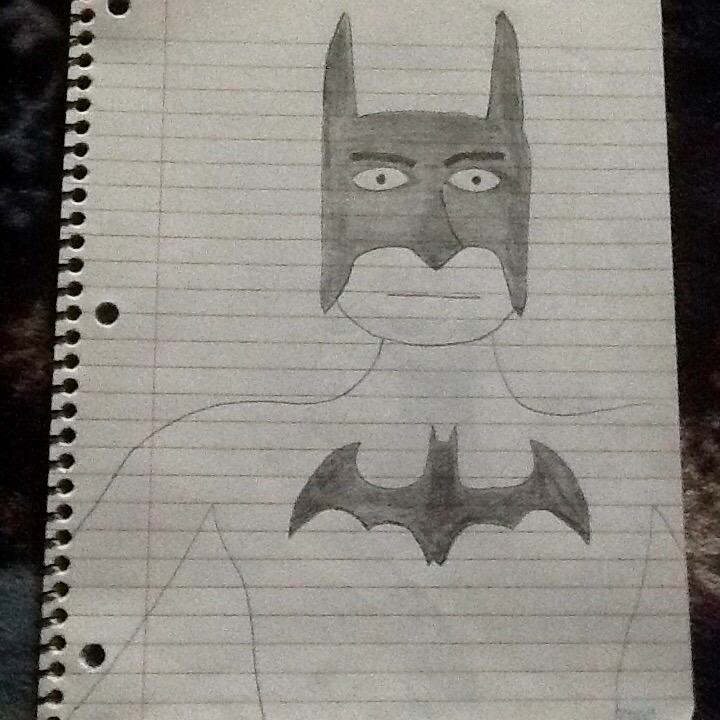 My drawing of batman by artist9795