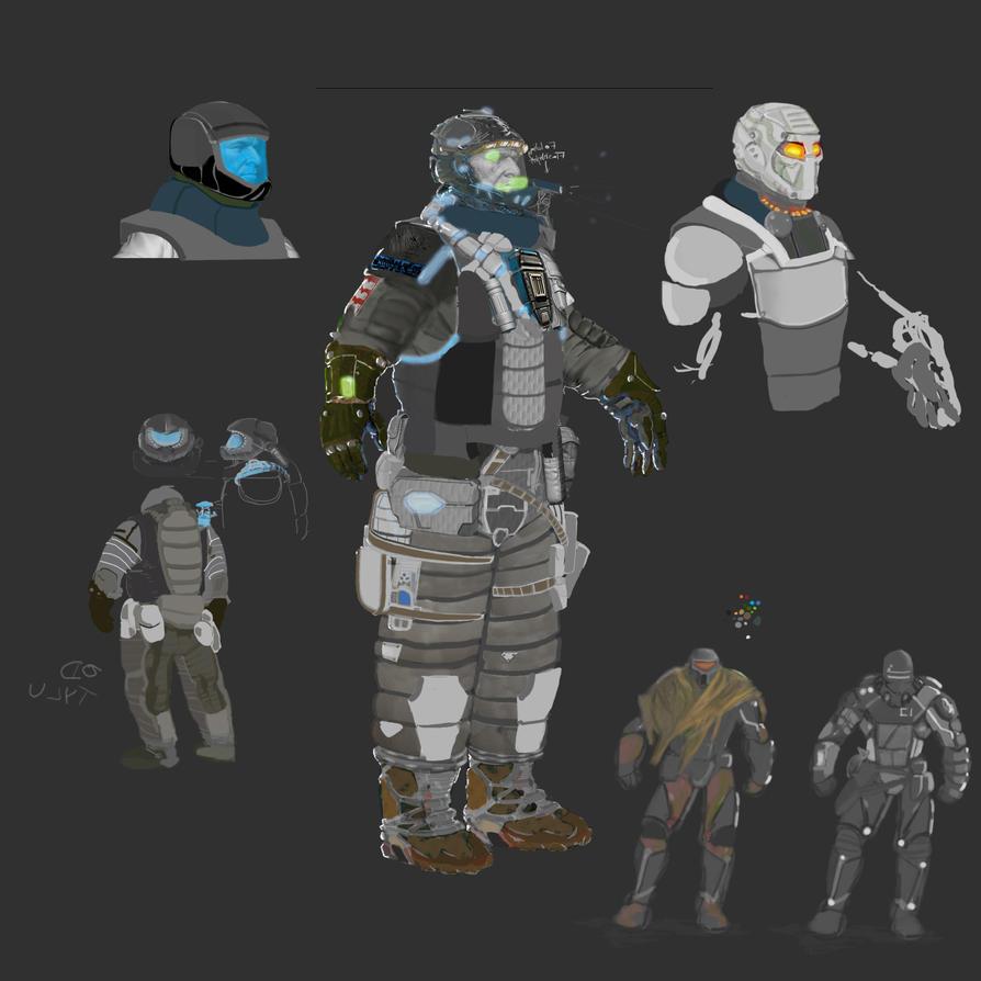 Concept Space Suits images