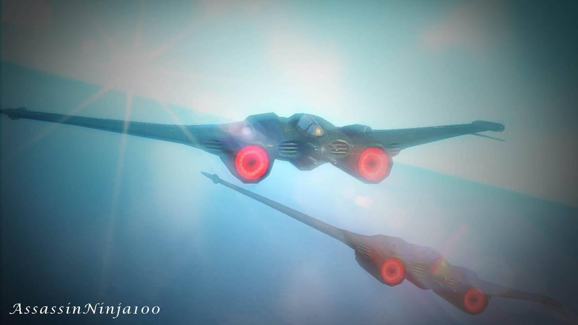 Wolfenstein: The New Order - Axis Jet fighter by AssassinNinja100 on